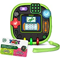 LeapFrog 80-606098 RockIt Twist Handheld Learning Game System, Green and 2-Game Pack: Cookie's Sweet Treats and Dinosaur…