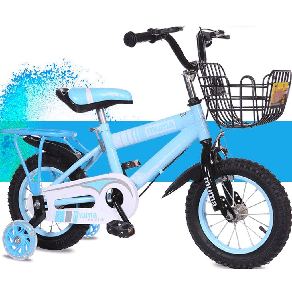自転車 子供の自転車3歳のベビーペダル自転車2-4-6歳の男の子と女の子6-7-8-9-10歳の赤ん坊の運送 (サイズ さいず : 14inch) B07DPNN45H14inch
