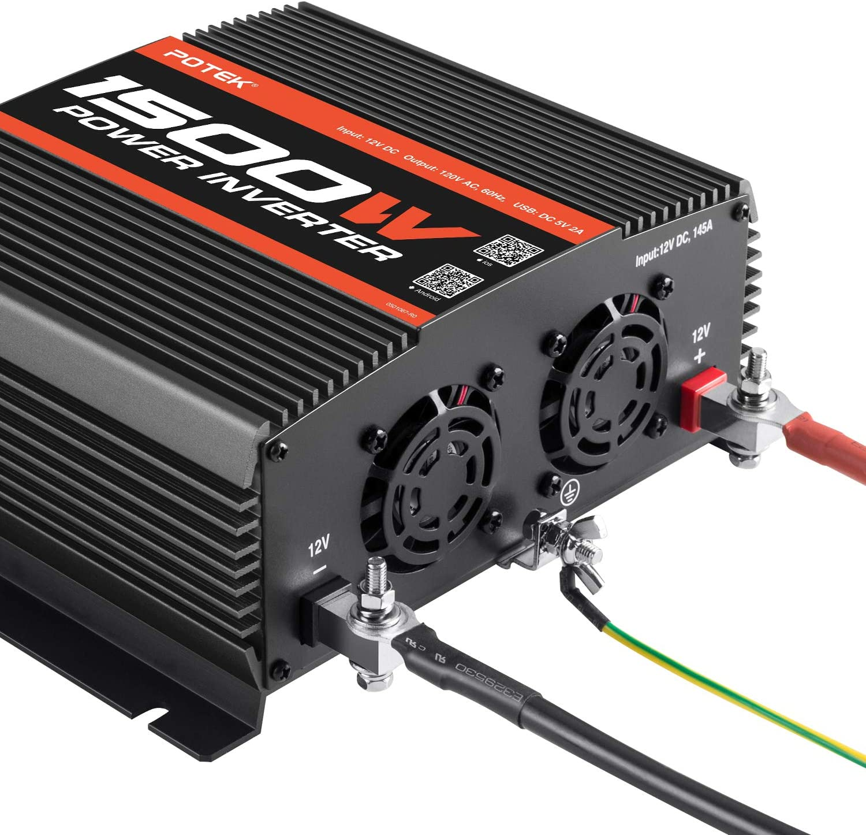 LCD Inverter 5000/W 12/V Inverter onda pura to AC 220/V caricatore 80/A