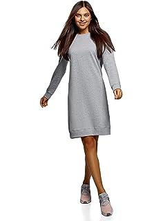 oodji Ultra Femme Robe de Base Style Sportif