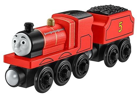 Thomas Friends Fisher Price Wooden Railway James Engine