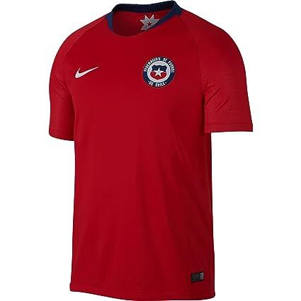 f094d4d6c Amazon.com   Nike Men s Chile 2018 Home Soccer Jersey   Sports ...