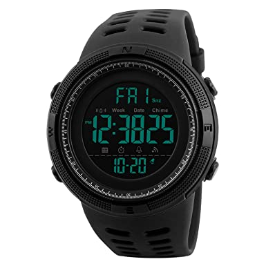 Review Watches Men's Digital Sport Watch Electronic LED Fashion Brand Waterproof Outdoor Casual Watch