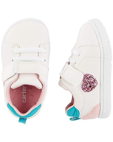 Amazon.com | Carters Kids Every Step Park-gp Baby Girls Walking Casual Sneaker | Sneakers