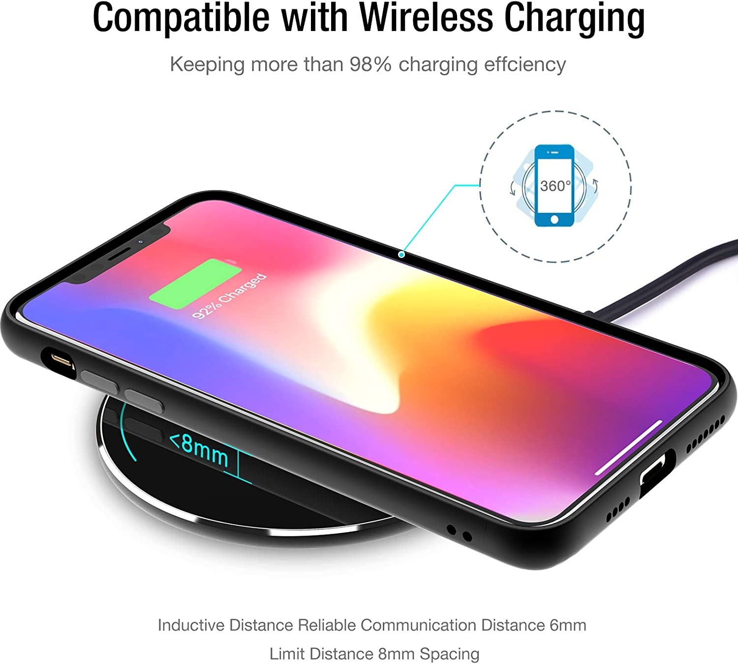 TOZO W1 Wireless Charger Thin
