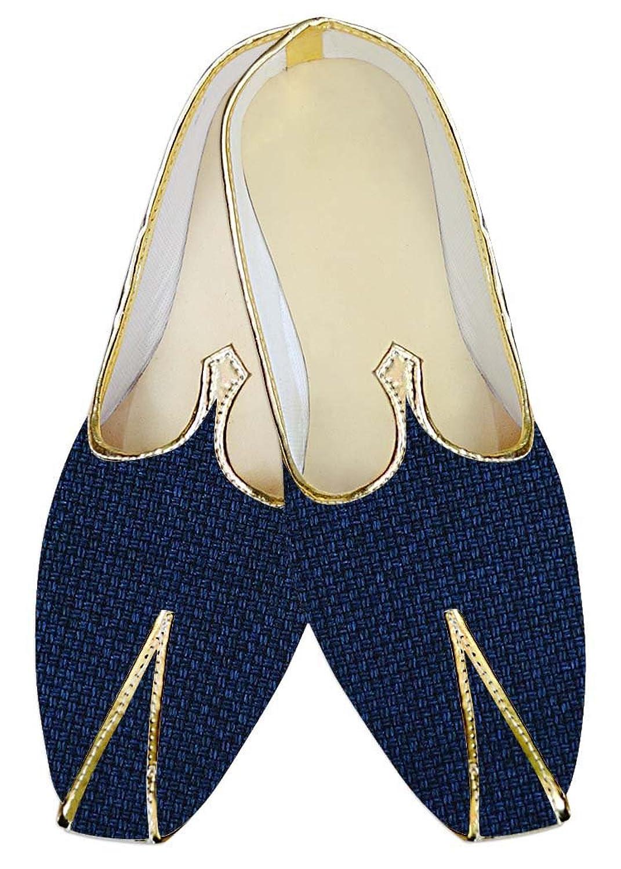 INMONARCH Marina Oscuro Hombres Zapatos Boda. MJ014218 42.5 EU