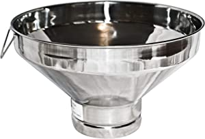 Large Stainless Steel Strainer for Milk, Maple Syrup, or Beverage (Strainer Only)