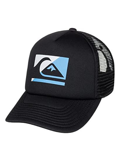 73280d881b988 ... coupon code for quiksilver boys step off youth trucker hat black one  size 1fe8b 69ae5
