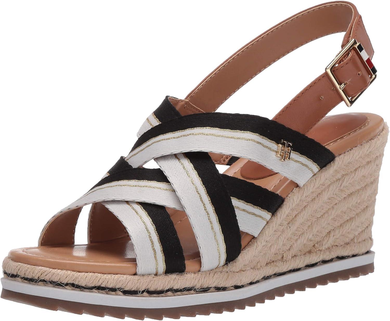 Tommy Hilfiger Womens Espadrille Wedge Sandal