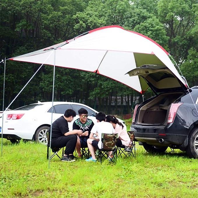 CARACHOME Toldos para Coches, Toldo Camping con Función De ...