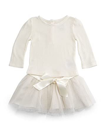 Ralph Lauren Polo Baby Girls Pointelle Top \u0026 Tulle Skirt (24 Months)