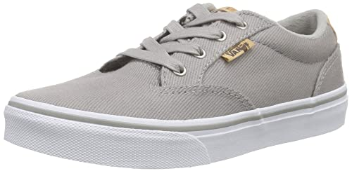 Vans - Winston, Zapatillas Niños, Gris (Washed Twill/Ice Gray/Blanket), 32.5 EU