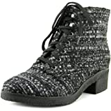 Marc Fisher Donell4 Women Round Toe Canvas Boot