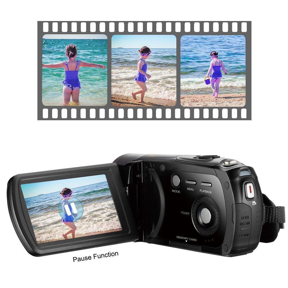 デジタルビデオカメラ SDカード 32gb fhdビデオカメラ FHD 1080P 32GB   B07LD5F1Z1