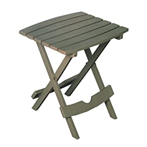 Adams Manufacturing 8500-13-3900 Quik Fold Side Table, Gray