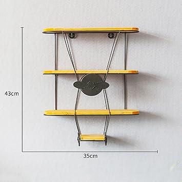 Wand Ausstellungsstand, Nordische Minimalistische Schmiedeeisen Flugzeug  Modell Wand Gestelle,
