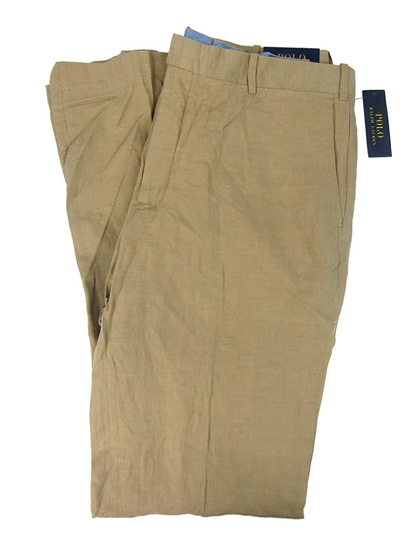 Polo Ralph Lauren Men's Big & Tall Classic-Fit Chino Pants (46B X 32, Beige)