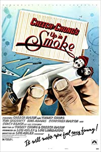 """Up in Smoke (Cheech & Chong) 11"""" X 17"""" Movie Poster - This is a Certified Poster Office Print with Holographic Sequential Numbering for Authenticity."""