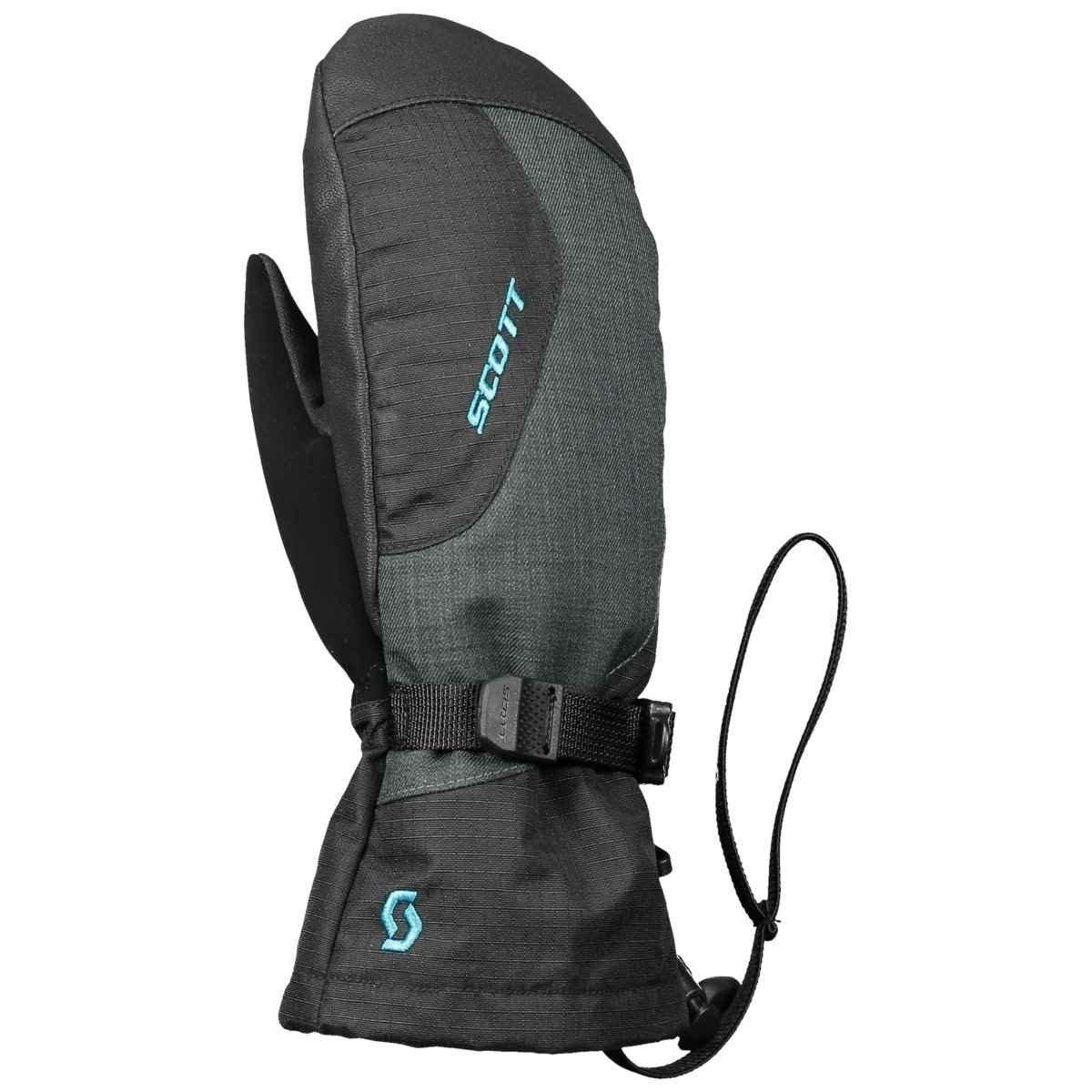 Scott Sports SCO Mitten JR Ultimate Premium GTX - 254569 (Black/Marina Blue - L)
