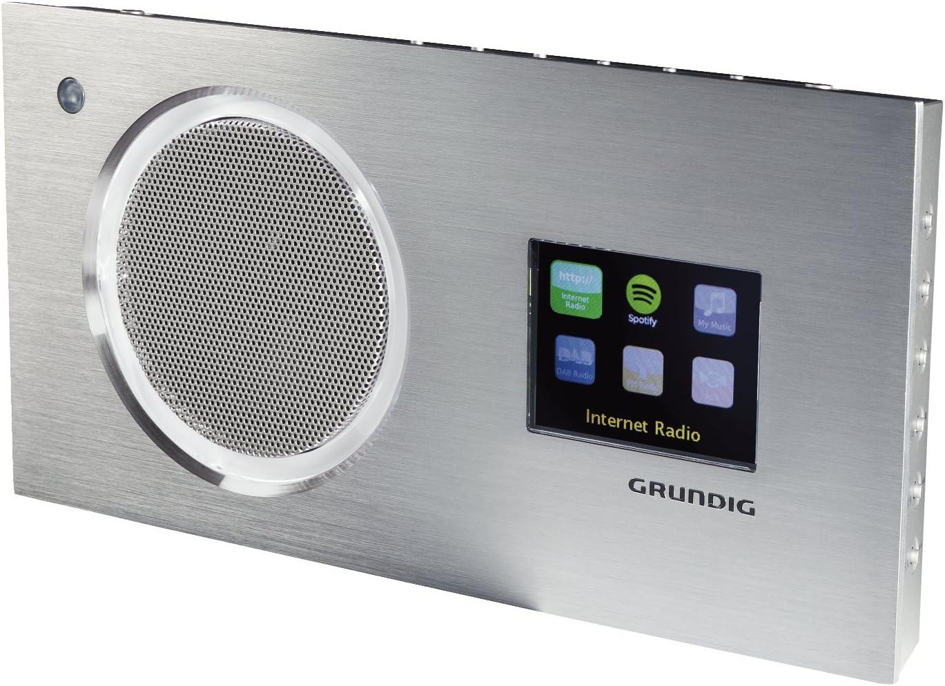 Grundig Cosmopolit 166 Web Dab+ - Radio (Internet, Digital, Dab,Dab+,FM, 16,16  W, iPhone, Aluminio)