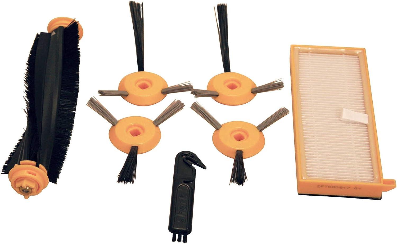 6x HEPA Filter /& Side Brush Kit for Shark ION Robot RV700 RV720 RV750/_N RV850BRN