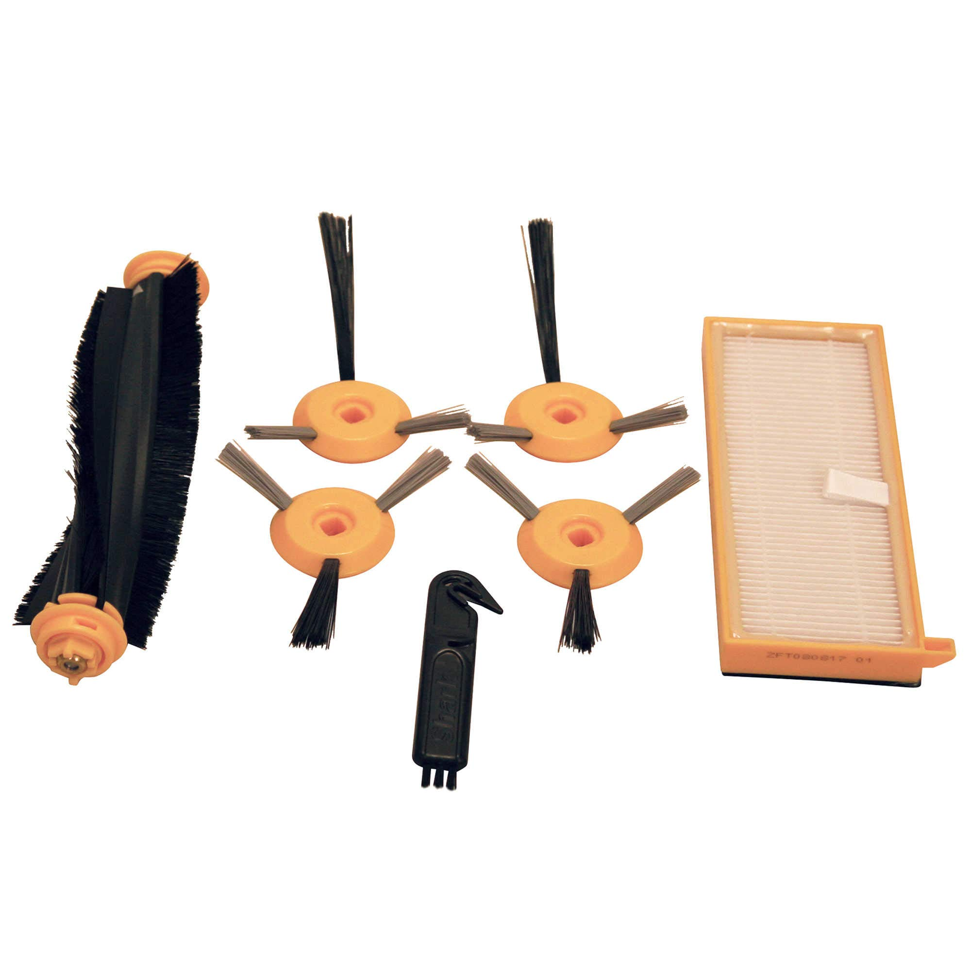 Shark Ion Robot Vacuum Filter and Brushes Replacement Kit for Shark Ion Robot Model RV750,Repalce The Worn and Frayed Attachments of Your Vacuum Cleaner to Ensure Maximum Cleaning Efficiency