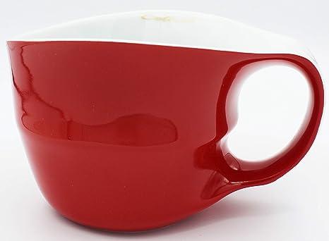 Colani Kaffeetasse m Untertasse Cappuccinotasse Tasse Becher ORANGE Kaffeebecher