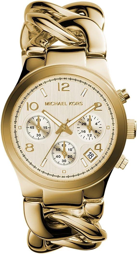 Michael Kors Women's Runway Gold Tone Watch MK3131