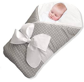 BundleBee Baby Wrap – Swaddle – Baby Blanket – Summer or Winter - Feather  Light - 6a80ac742