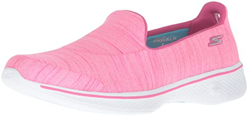 8bac502bc43 Skechers Women s Go Walk 4-Satisfy Trainers  Amazon.co.uk  Shoes   Bags