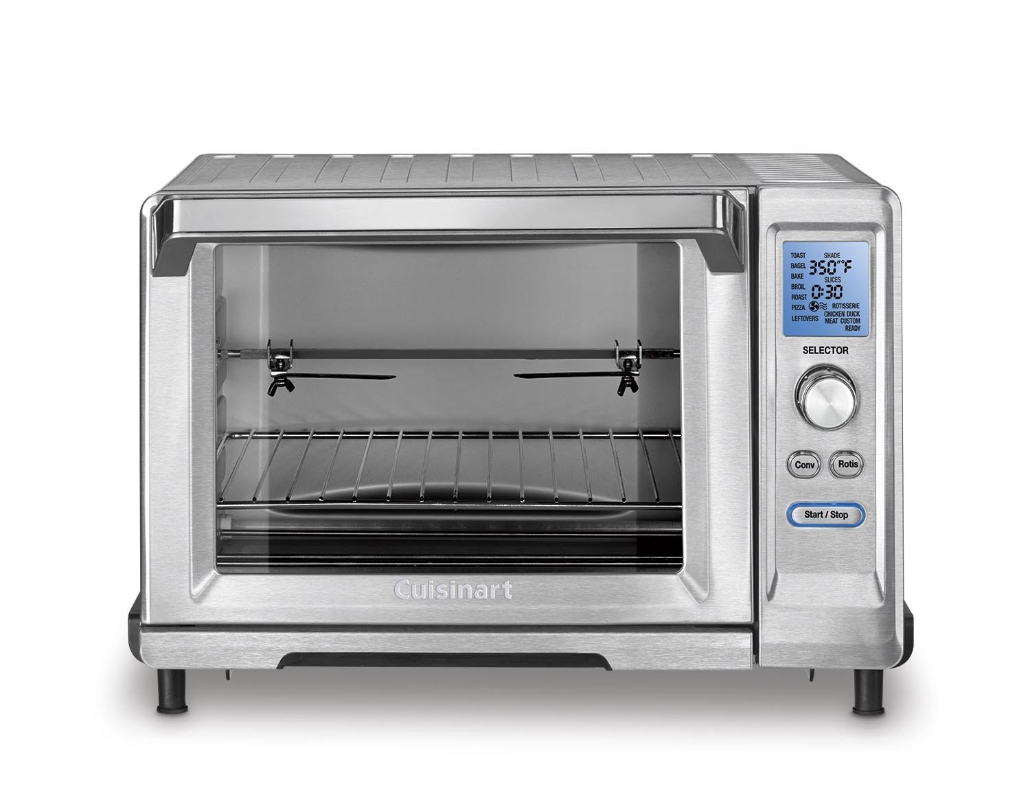 Cuisinart TOB-200N Rotisserie Convection Toaster Oven, , Stainless Steel by Cuisinart