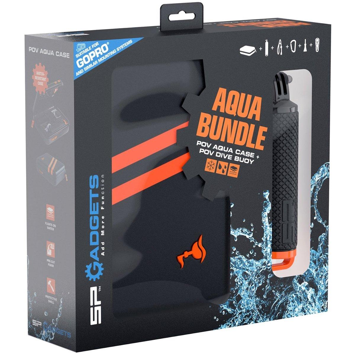 SP Gadgets Helmkamera Aqua Bundle