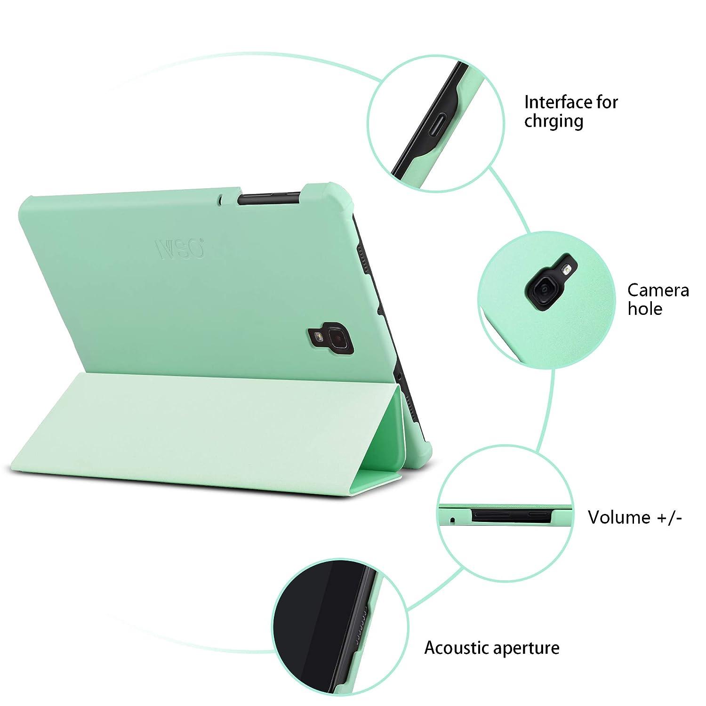 SM-T590N//T595N 2018 Soot Eye IVSO Custodia Cover per Samsung Galaxy Tab A 10.5 Slim Smart Protettiva Custodia Cover in Pelle PU per Samsung Galaxy Tab A SM-T590N//T595N 10.5 2018