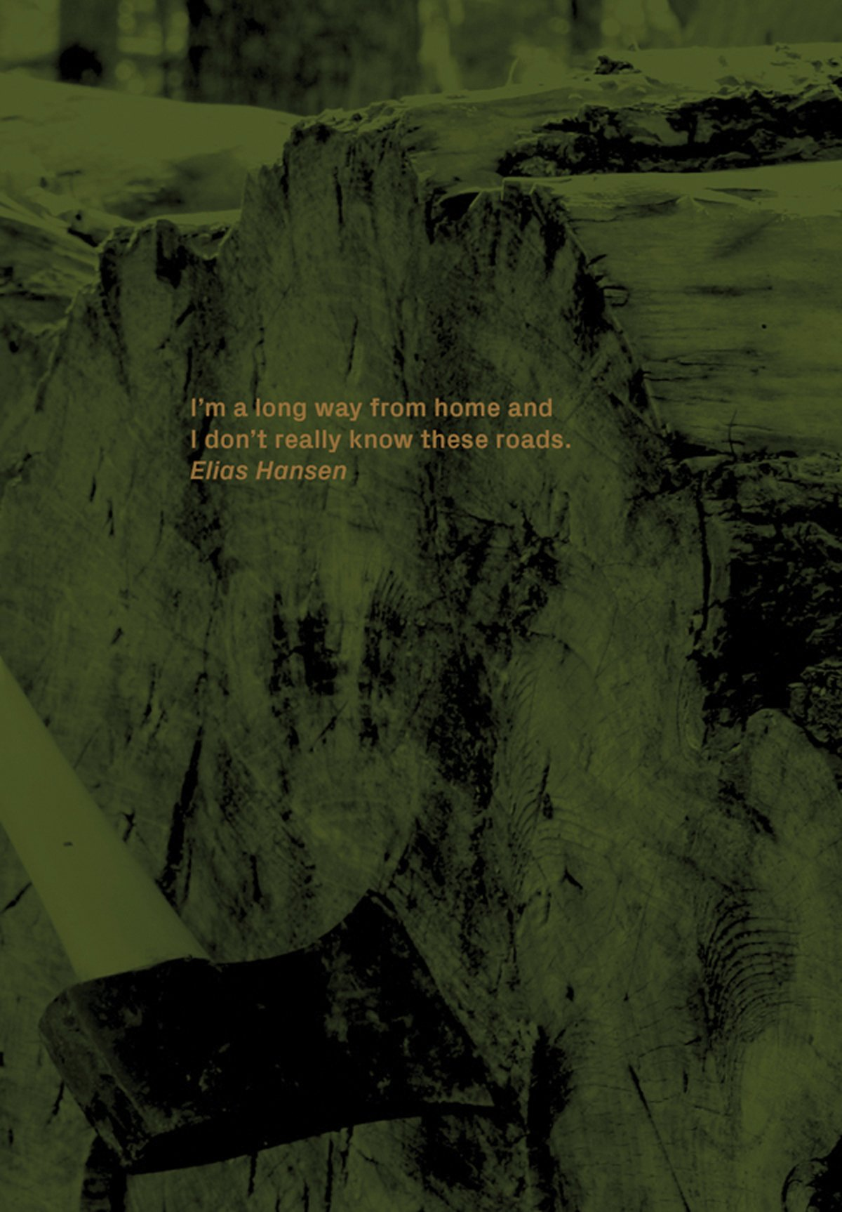 Elias Hansen: I'm a Long Way from Home and I Don't Really Know These Roads pdf epub