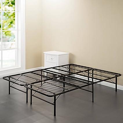 Amazon Com Spa Sensations Steel Smart Base Bed Frame Black