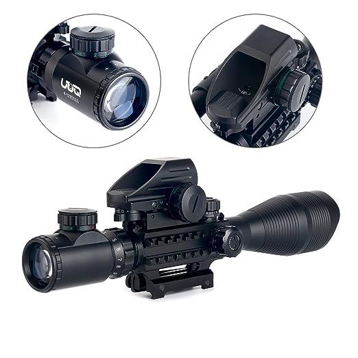 UUQ C4-12X50 AR15 Riflescope