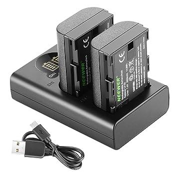 Amazon.com: Neewer - Juego de baterías recargables para ...