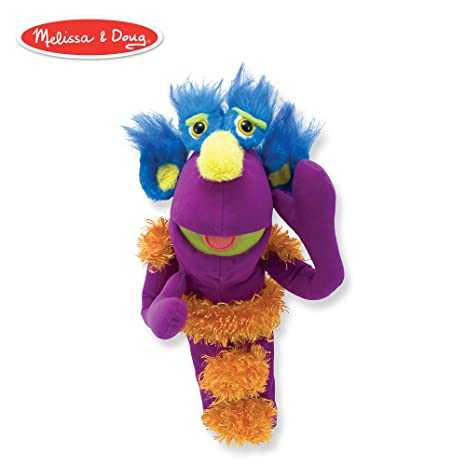 2e593b73c7db Amazon.com: Melissa & Doug Make-Your-Own Monster Puppet Kit (30 Pieces):  Melissa & Doug: Toys & Games