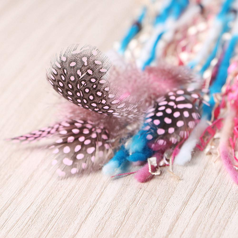 LAVAY Dream Catchers Handmade Feather Colorful Native American Indian Dreamcatcher for Kids Bedroom Wall Hanging Decoration Decor Ornament Craft Colorful
