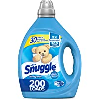 Snuggle 2X Concentrated Liquid Fabric Softener 200-Load 80-oz. Bottle (Blue Sparkle)