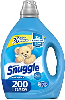 Snuggle 2X Concentrated Liquid Fabric Softener 200-Load 80-oz. Bottle