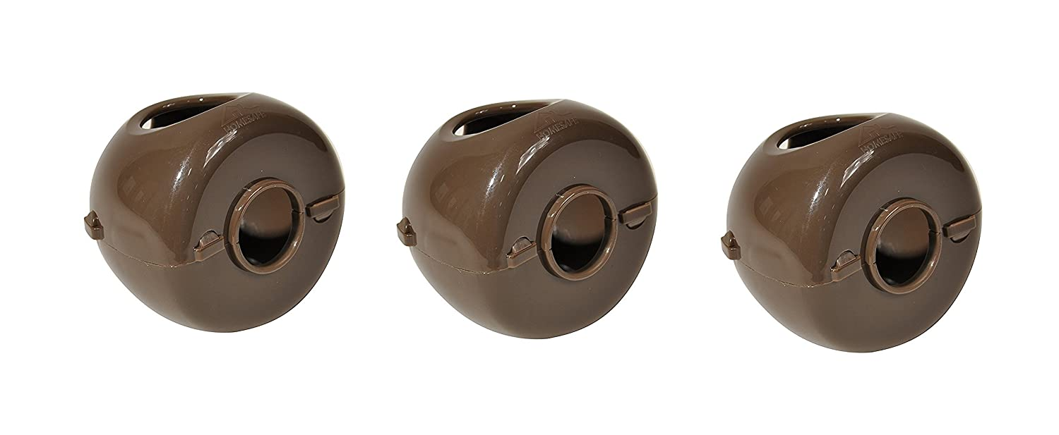 Home Safe by Summer Door Knob Safety Covers, 3-Pack