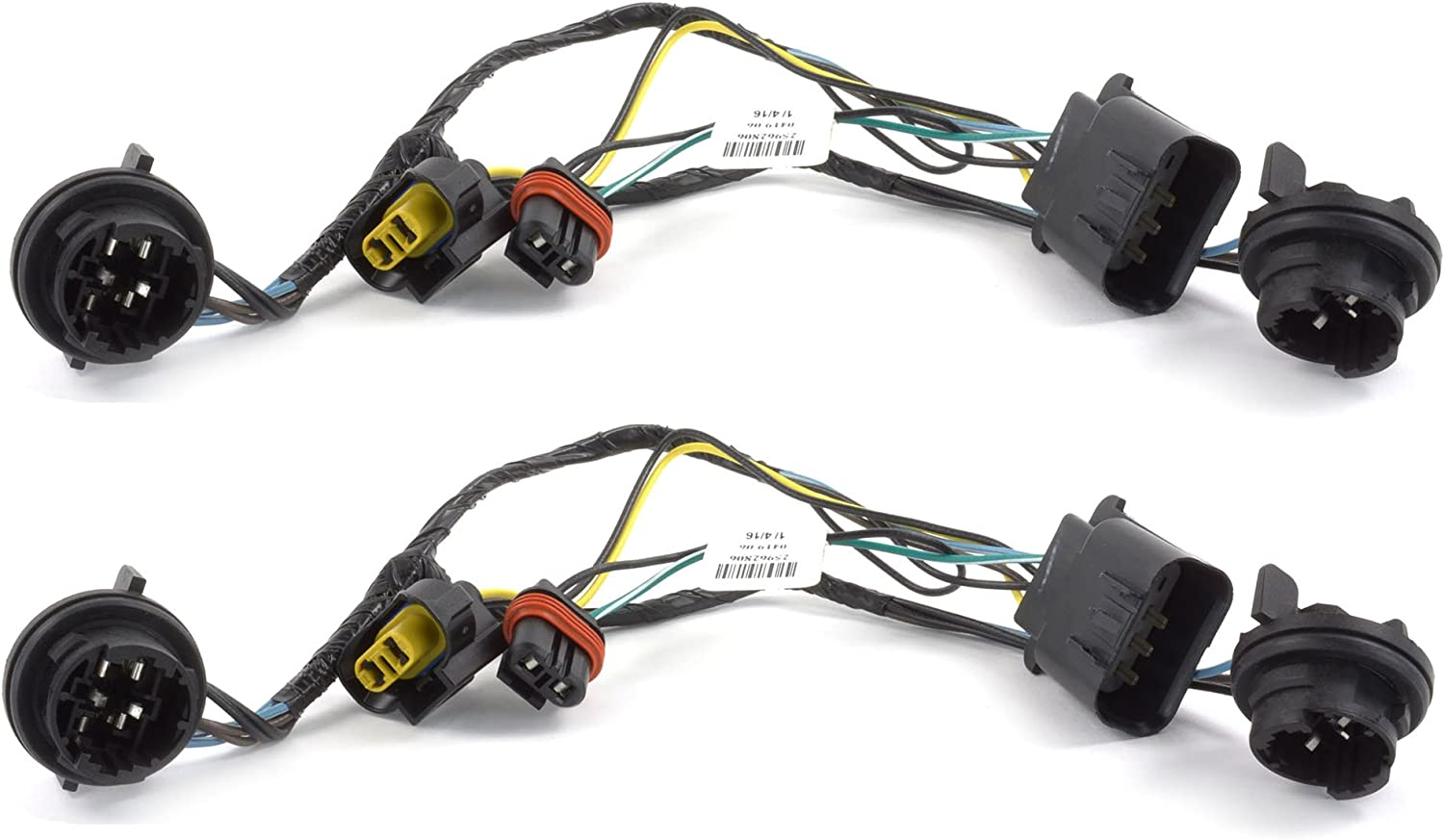 Amazon.com: OEM NEW Head Light Socket Wiring Harness Front Right Left Set  Silverado 25962806: Automotive | 2013 2500 Chevrolet Wiring |  | Amazon.com