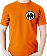 Camiseta Uniforme Simbolo Goku - Dragon Ball Z Super Camisa Blusa
