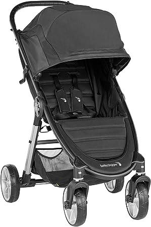 Oferta amazon: Silla de paseo City Mini® 2 de 4 ruedas Jet de Baby Jogger, desde nacimiento a 22kg. Color negro