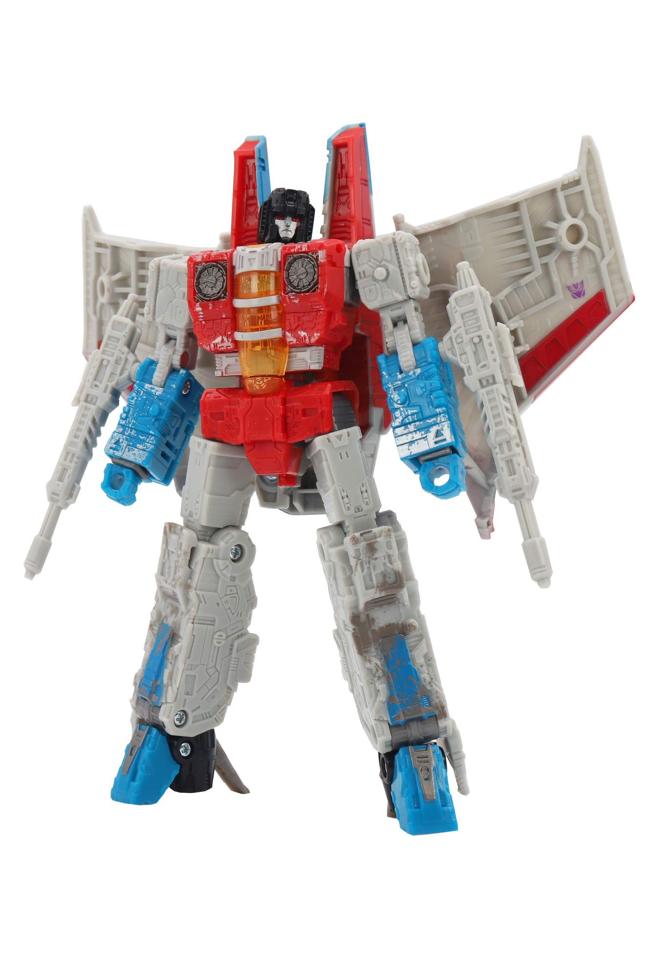 Transformers Toys Generations War for Cybertron Voyager Wfc-S24 Starscream Action Figure - Siege Chapter - Adults & Kids Ages 8 & Up, 7'' by Transformers (Image #4)