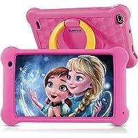 Surfans Kids Tablet, 7 pulgadas IPS FHD Display, 2 GB RAM, 32 GB ROM, WiFi Android tabletas para niños con funda a…