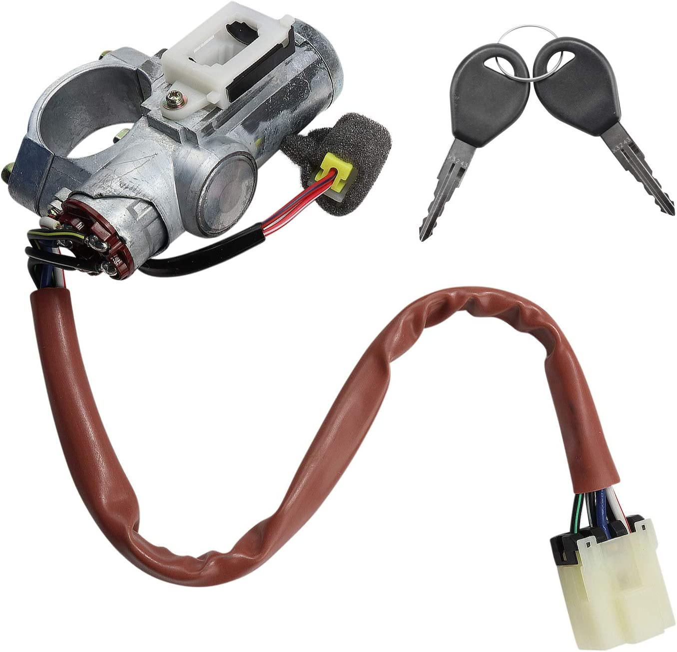 Beck Arnley 201-2058 Ignition Lock and Cylinder Assembly Switch