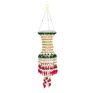 Buy Alcott Handmade Traditional Hangings Jhumar Home Decor Red And