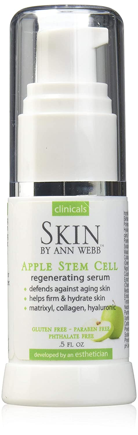 Skin by Ann Webb Apple Stem Cell Serum Gel, 0.5 Fluid Ounce